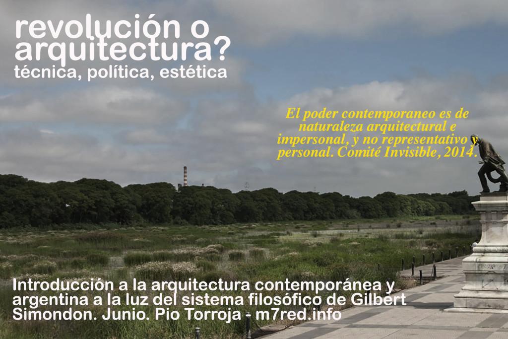 arquitectura o revolucion